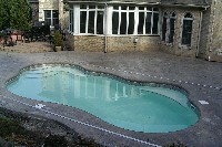 Rio Fiberglass Pool in Cypress, CA